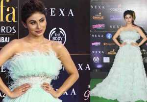 Mouni Roy looks beautiful in frilly gown at IIFA 2019 awards; Watch video
