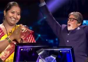 KBC 11: After Sanoj Raj Babita Tade wins Rs. 1 crore in Amitabh Bachchan's show