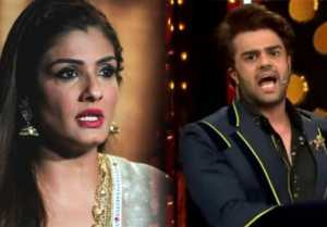Nach Baliye 9: Raveena Tandon gets into FIGHT with Maniesh Paul on sets; Here's why