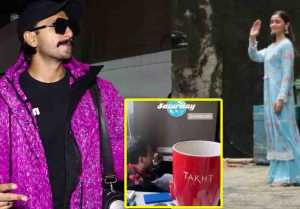 Alia Bhatt & Ranveer Singh begin work on Karan Johar's Takht;Watch video