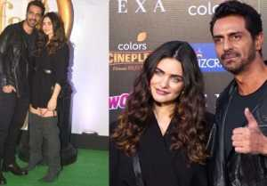Arjun Rampal attends IIFA 2019 green carpet with GF Gabriella Demetriades; Watch video