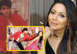Shahrukh Khan's wife Gauri Khan makes big revelation on Bazigar song ye Kali Kali Sankhen look