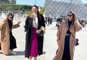 Sania Mirza enjoys her sister Anam Mirza's bachelorette trip in Paris