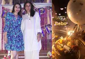 Kareena Kapoor Khan Birthday: Karisma Kapoor shares moments from celebration
