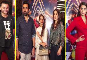 Neha Dhupia's husband Angad & others attend screening of Sonam Kapoor's The Zoya Factor
