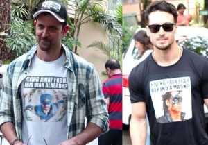 Hrithik Roshan & Tiger Shroff promote their film War;Watch video