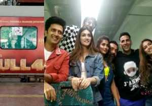 Akshay Kumar, Riteish Deshmukh & other stars masti on Housefull 4 Express Special Train