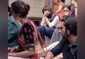 Ranveer Singh had his eyes on Deepika Padukone