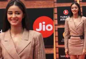 Ananya Panday looks classy at Jio Mami Film Festival 2019