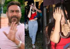 Ajay Devgn's daughter Nysa Devgn hides her face in front of camera; Check out