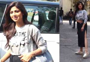Shilpa Shetty spotted at Filmistaan studio in Goregaon; Watch Video