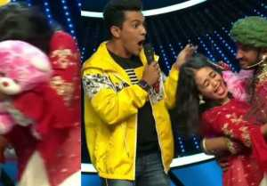 Indian Idol: Contestant forcefully kiss on Neha Kakkar's cheek at show