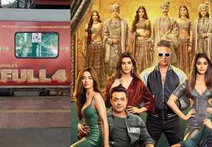 Akshay Kumar & other Housefull 4 cast booked a train for the film's promotion