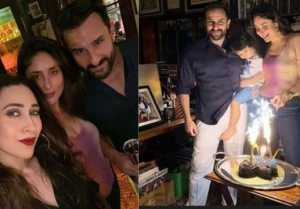 Kareena Kapoor Khan & Saif celebrate wedding anniversary with Taimur & Karisma Kapoor