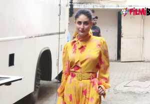 Kareena Kapoor Khan Looks gorgeous in floral yellow dress for Ishq FM shoot