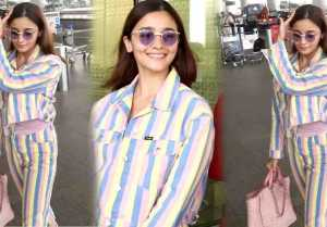 Alia Bhatt looks stunning at airport; Watch video