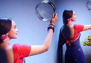 Sonakshi Sinha celebrate Karwa Chauth with Salman Khan's Dabangg 3 poster