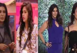 Divyanka Tripathi & Hina Khan in Ekta Kapoor's party ; Dalljiet & Koena evicted from BB