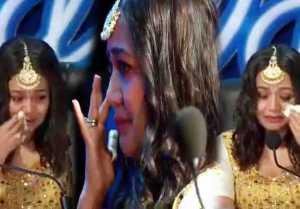 Neha Kakkar again cries on Indian Idol 10, fans shares hilarious memes on social media