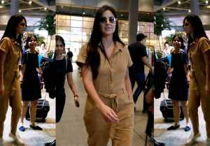 Katrina Kaif looks boss lady at Mumbai Airport; Check Out Here