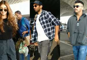 Disha Parani , Arjun Kapoor & Aditya Roy Kapur SOPTTED at Airport; Watch Video