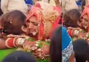 Mohena Kumari Singh Wedding: Mohena cries badly in her Vidaai; Watch video