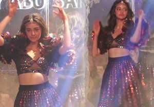Ananya Panday turns show stoppers for Abu Jani & Sandeep Khosla show