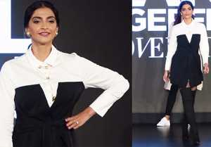 Sonam Kapoor becomes showstopper for Karl Lagerfeld's collection; Watch video