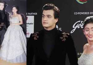 Shivangi Joshi & Mohsin Khan look perfect together at Gold Awards; watch video