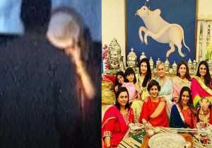 Aishwarya Rai Bachchan & Jaya Bachchan's Karwa Chauth celebrations with Shweta Nanda