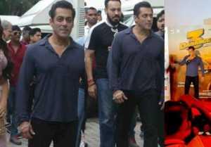 Salman Khan's entry at Dabangg 3 Trailer Launch; Watch Video