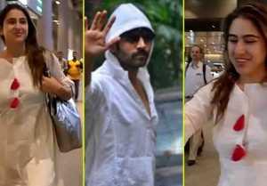 Sara Ali Khan returns to Mumbai after enjoying holiday in Sri Lanka; Watch video