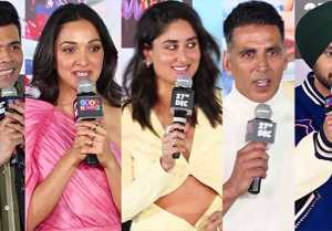 Kareena Kapoor Khan & Good Newwz team talk on their good news at  trailer launch