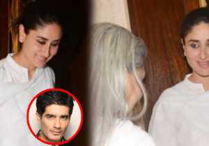Kareena Kapoor trolled for SMILING in Manish Malhotra's father prayer meet; Watch video