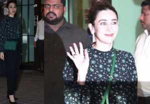 Karisma Kapoor looks elegant at Arpita & Aayush wedding anniversary party