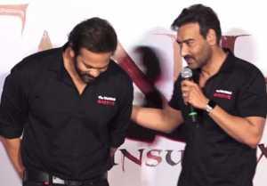 Ajay Devgn & Rohit Shetty GET emotional at Tanhaji The Unsung Warrior trailer launch
