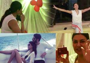 Sushmita Sen GETS this birthday surprise from her boyfriend Rohman Shawl