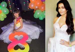 Aishwarya Rai Bachchan shares Aaradhya Bachchan's pic from birthday bash