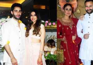 Kareena Kapoor Khan & Saif Ali Khan attend Armaan Jain's roka ceremony; Watch video