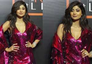 Shilpa Shetty looks glamours at Vogue x Nykaa fashion award