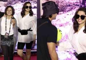 Deepika Padukone & Ranveer Singh attend U2 Mumbai concert
