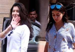 Ananya Panday & Shanaya BFF spotted at different locations; Watch video