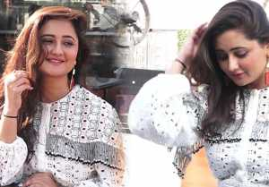 Bigg Boss 13 contestant & TV actor Rashami Desai poses for media;Watch video