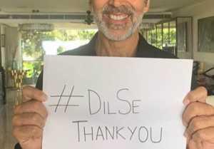 Akshay Kumar says #DilSeThankYou to every Public Servants; Watch Video