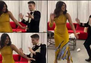 Priyanka Chopra Danced To Ajay Devgan's Song Wid Nick Jonas, Viral Video