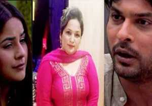 Siddharth Shukla talks with Shehnaz Gill's mother after father controversy