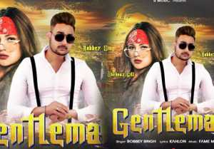 Shehnaz's new song GENTLEMAN with Punjabi singer Robbey Singh will launch soon