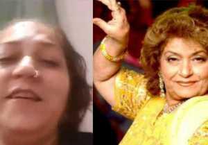 Saroj Khan's shroud was also arranged by herself reveals Daughter Sukaina Nagpal