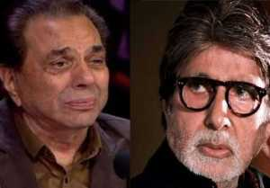 Dharmendra talks about Amitabh Bachchan's health after corona positive test