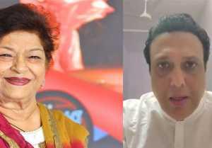 Govinda Shares Emotional Moment with Saroj Khan; Watch Video